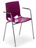 Krzesło FONDO PP ARM chrome