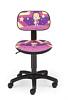 Krzesło dziecięce CARTOONS LINE SMALL black ts22  GWIAZDA