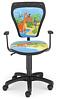 Krzesło dziecięce CARTOONS LINE black GTP ts22 DINO