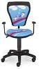 Krzesło dziecięce CARTOONS LINE black GTP ts22 KONIKI