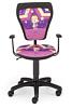 Krzesło dziecięce CARTOONS LINE black GTP ts22 GWIAZDA