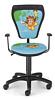 Krzesło dziecięce CARTOONS LINE black GTP ts22 gtp PIRAT