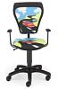 Krzesło dziecięce CARTOONS LINE black GTP ts22 TURBO
